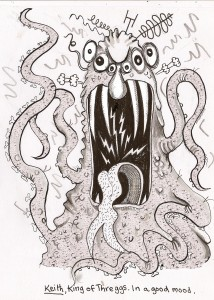 This alien is a Baddie, from 'Letters from an A;lien Schoolboy'
